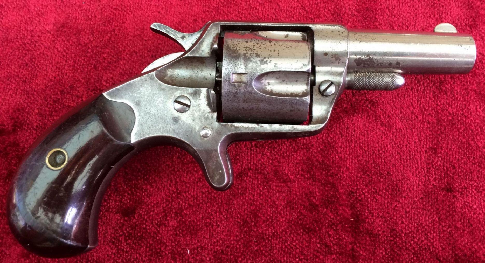 X X X SOLD X X X A scarce American Colt  41 cal Rimfire 5 shot